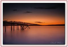 Holywood Jetty (Deek Wilson) Tags: holywood jetty belfastlough sunset bluehour longexposure water northernireland seascape