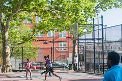 1358_0292FL (davidben33) Tags: brooklyn ny crown height summer 2018 park sport basketball people children 718 plaj joi trees bushes sporting field