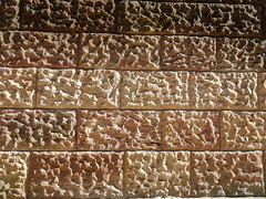 Brickwork under Grosvenor Bridge, 2018 Jul 08 -- photo 1 (Dunnock_D) Tags: uk unitedkingdom britain england chester grosvenor bridge texture wall brick bricks brickwork