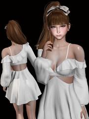 MIWAS Nayeon dress @Equal10 (ღ:Yuzღ:) Tags: secondlife fashion monso kustom9 barberyumyum gacha miwas airship equal10 6doo maitreya virtual world
