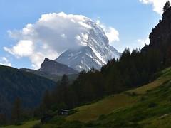 Matterhorn (brianlarsen4) Tags: landscape clouds nature zermatt switzerland mountain matterhorn