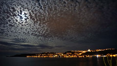 Night sky over Malta (akovt) Tags: malta mellieha sky mediterranean sea night view viewpoint water
