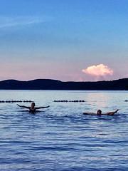 Au lac Simon 🐟🌞 (Bleuetière Ranch KDJD) Tags: bleu lac plage petitenation outaouais canada provincequébec lacsimon