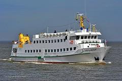 Lady von Büsum (Bernhard Fuchs) Tags: passenger boat cuxhaven elbe nikon passagierdampfer passagierschiffe passengership ship schiffe ships vessel water personenschifffahrt boot meer fähre schiff wasser