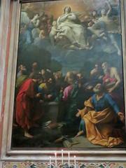 20170525 Italie Gênes - L'Eglise de Jésus- Guido Reni (1574-1642) - L'Assomption (anhndee) Tags: italie italy italia gênes genova church église eglise peintre peinture painting painter