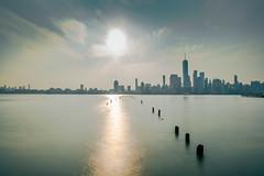 New York (rj.montes.g) Tags: new york jersey newyork newjersey longexpo longexposure long exposure nikon d750 sky city colors blue yellow morning earlymorning sun skyline