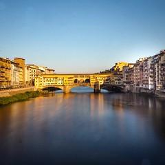 Florence ponte vecchio (gregorycanal) Tags: sunset arno toscane toscana italia italie architecture pontevecchio firenze florence