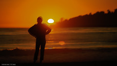 Everytime I go there, I leave little bit of me there! (SDClickss) Tags: sand sun evening sunset ca1 westcoast california monterey beach carmel magicalplaces diaries travel memories life soul me myself