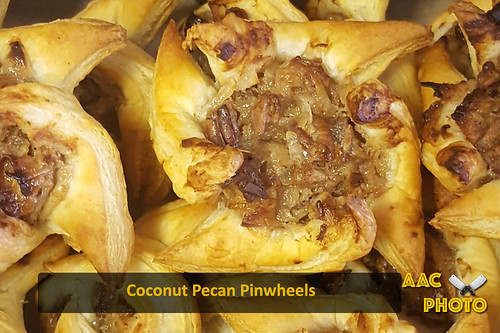 "Coconut Pecan Pinwheels • <a style=""font-size:0.8em;"" href=""http://www.flickr.com/photos/159796538@N03/43741501472/"" target=""_blank"">View on Flickr</a>"