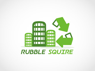 RUBBLE SQUIRE REAL ESTATE LOGO DESIGN
