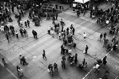 Market Blur - 29/100 X (mfhiatt) Tags: dscf10430518jpg blackandwhite desmoines iowa fujix100f street streetphotography blur urbanblur downtownfarmersmarket farmersmarket 100xthe2018edition 100x2018 image29100
