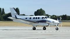 M-TSRI (RJE Aviation Images) Tags: mtsri beechcraft c90gt king air london southend airport egmc sen rje aviation images