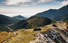 Belianske Tatras (vaterkinder) Tags: 500px gory mountain range hill peak snowcapped valley ridge hiking landscape rolling rock tatras tatry bielskie tatra autumn