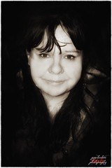 Portrait (psychosteve-2) Tags: bw woman