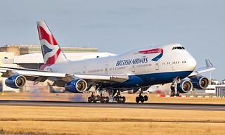 G-BYGG - Boeing 747-436 - LHR