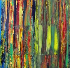 A Window in the Jungle (Peter Wachtmeister) Tags: artinformel mysticart modernart popart artbrut phantasticart minimalart acrylicpaint abstract abstrakterimpressionismus abstrakt surrealismus surrealism hanspeterwachtmeister