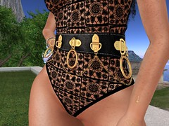 Asteria Anyway Bodysuit (Unvarnished Fashion) Tags: secondlife asteria bodysuit empyreanforge fetishfair collabor88 belt necklace earrings blog shop