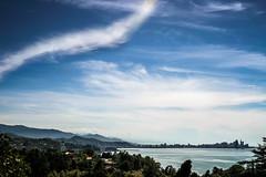 Cohabit (Melissa Maples) Tags: batumi batum ბათუმი adjara აჭარა georgia gürcistan sakartvelo საქართველო asia 土耳其 apple iphone iphonex cameraphone მწვანეკეპი mtsvanecape ბოტანიკურიბაღი botanicalgarden blacksea sea water skyline sky blue mountains