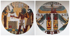 Egyptian double-sided 500* piece jigsaw (pefkosmad) Tags: jigsaw puzzle complete used secondhand round circular circle pasttimes hobby leisure pastime egyptian ancientegypt