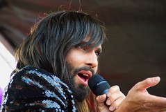 Conchita Wurst (Sarah Marston) Tags: conchita wurst 2018 july alpha a77 sony uk pride isle wight iow portrait