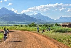 Approaching Mulanje and the Malawi border.