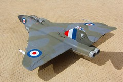 Chematic 1.72 Javelin FAW9 XH766-2 (jonf45 - 4 million views -Thank you) Tags: chematic 172 gloster javelin faw9 xh766 e 64 squadron royal air force plastic plane model aircraft kit jet