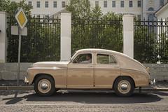 GAZ-M-20 Pobeda (1946-1958) (Khuroshvili Ilya) Tags: car retro vintage vehicle auto soviet ussr streets roads pobeda gazm20 gaz m20 road wheel