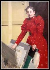 Anders Zorn exhibibition in Paris Petit Palais (skaradogan) Tags: zorn anderszorn portrait femme woman female exhibition exposition museum musée petitpalais 19thcentury paris 75008 swedishheritage art culture painting peinture tableau