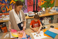 Crazy About Color, 2018.6 (Center for Creative Connections) Tags: dallasmuseumofart dma camp summercamp summer fun kids creativity color artmaking art