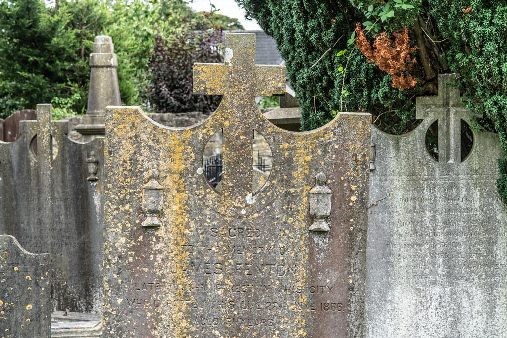 OLD CHURCHYARD KNOWN AS ST. JOHN'S [DUBLIN ROAD KILKENNY]-142963