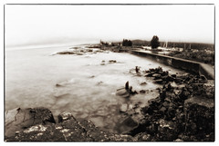 Lighthouse Walk, Grand Marais, MN (jkcampbell18) Tags: pinhole monochrome mottweiler p902