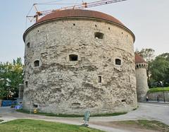 Fat Margaret's Tower - Renovation - Tallinn (BlueVoter - thanks for 2.1M views) Tags: tallinn estonia eesti tower medieval