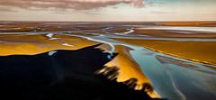 ombre du Mont St Michel sur la baie (angelobrathot) Tags: hdr montsaintmichel normandie france mer eau paysages h