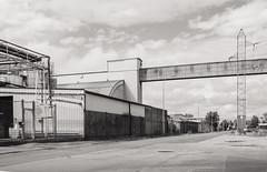 Industrial street (AstridWestvang) Tags: building fredrikstad industry street øra østfold