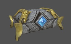 Chest - Textured Game Asset in Substance Painter - Single Object (Aloe [Alli Keys]) Tags: