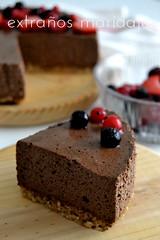 Tarta mousse de chocolate saludable (extraños maridajes) Tags: tarta mousse chocolate comida cooking sweet dessert dulce postre saludable