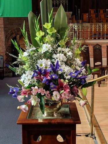 Chris's floral art, St Andrews UC, Brisbane IMG_20180817_123523