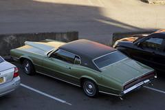 1970 Ford Thunderbird (Curtis Gregory Perry) Tags: ketchikan alaska ford thunderbird 1970 car automobile green classic vehicle e parking lot nikon d810