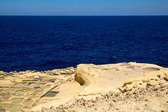 DSCF7382 (chalkie) Tags: gozo malta marsalforn saltpans salt seasalt