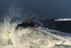 Bodyboard, le style (puig patrice) Tags: fuji bodyboard ocean arcachon sport water wave surf