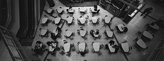 Lunch 2018 (@fotodudenz) Tags: hasselblad xpan film rangefinder 30mm ultra wide angle myers centre brisbane queensland australia 2018 ilford xp2 super panorama panoramic from above