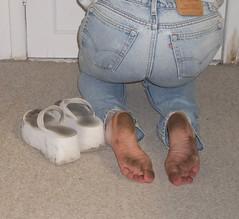 IMGP0735 (paulswentkowski1983) Tags: dirty feet soles pitch black female calloused