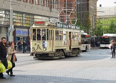 Old Iron (yon_willis) Tags: denhaag nederland zuidholland holland thehague tram 2014 thenetherlands europe southholland publictransport transportation streetscene