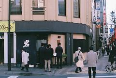 ginza (m_travels) Tags: japan tokyo film photography street people ginza analog fujicolor400 35mmfilm mood urban candid smcpentax50mmf12 pentaxkm fujifilm