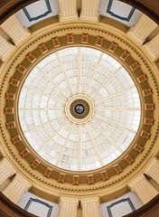 (JawshBeavz) Tags: statecapitol rotunda dome art symmetry photography death stuff southcarolina columbia capital building architecture