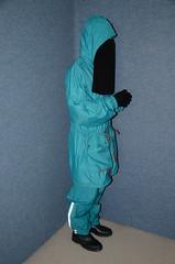 Rainwear (Warm Clothes Fetish) Tags: slave chaerwomen maid sweat torture girl niqab hijab hot warm rain boots hat