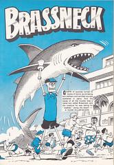 The Dandy Book 1985 / Brassneck (micky the pixel) Tags: comics comic buch book livre annual humor dcthomson thedandybook thedandy brassneck roboter robot hai shark