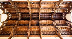 Wooden ceiling in The Great Hall (Carol Spurway) Tags: peterborough cambridgeshire stamford lincolnshire stmartinswithout barnack 16thcentury elizabethan burghleyhouse treasurehousesofengland hha historichouses historichousesassociation interior house