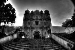 Iglesia de Santo Domingo (drlopezfranco) Tags: méxico chiapas sancristobaldelascasas iglesia church bn bw hdr hrd colonial colony sancristobal