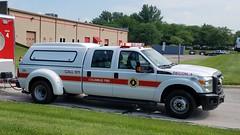Decon 4 (Central Ohio Emergency Response) Tags: columbus ohio fire division department truck hazmat ford decon decontamination hazardous materials response team trailer nomad
